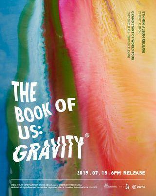[PRE ORDER] DAY6 - THE BOOK OF US: GRAVITY (5TH MINI ALBUM)