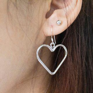 [Instock] S925 Heart Earrings
