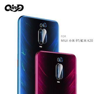QinD MIUI 小米 9T/紅米 K20 鏡頭玻璃貼(兩片裝)