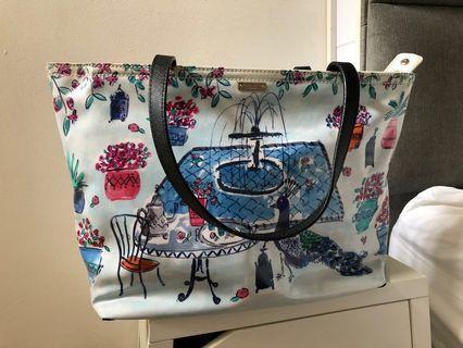 🚚 Katespade hand bag large cute cartoon original