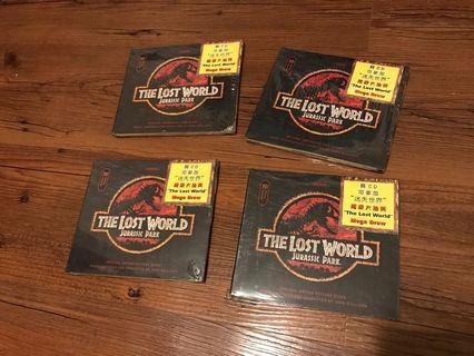 The Lost world Jurassic Park CD