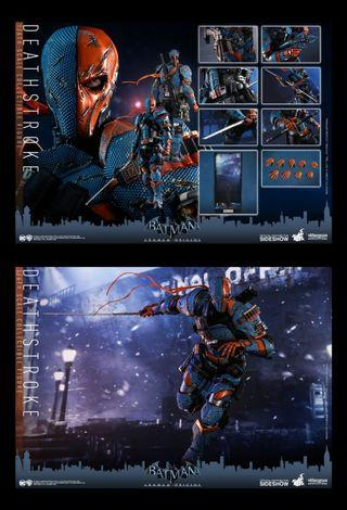 先看帖文內容再查詢 全新現貨 Hottoys VGM30 Batman Arkham Origins Deathstroke