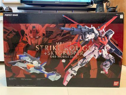 Gundam Seed 1/60 PG MBF-02 Strike Rouge + Skygrasper Orb Mobile Suit Model Kit 高達模型