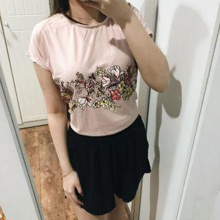 The Executive Pink Floral Tshirt