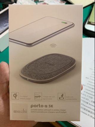 Porto Q 5k無線充電行動電源