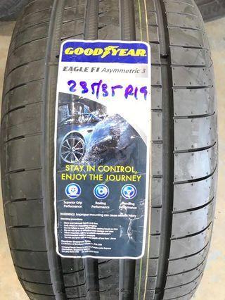 235/35R19 Goodyear F1 Asymmetric 3