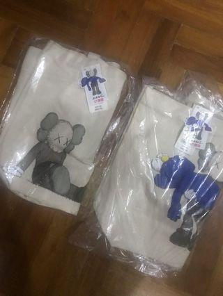 Kaws uniqlo tote bag steal