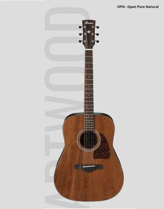 Ibanez Aw54 solid top Acoustic guitar 單板木結他 吉他