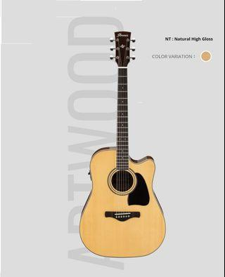 Ibanez Aw70ece Acoustic Electric Guitar - 電木結他