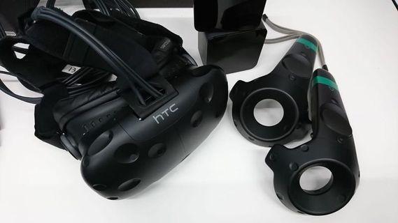 85成新 美版 HTC Vive VR Virtual Reality headset