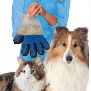 Dog Cat Hair Remover Deshedding Massage Glove