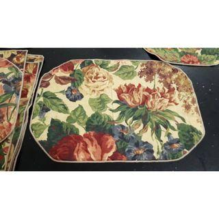 Floral Placemats and Napkins