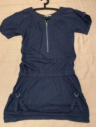 🚚 Casual Blue Dress