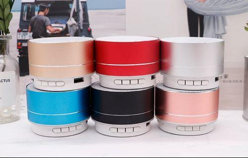 A10 Mini Portable Wireless Bluetooth Speaker, Aluminium Wireless Stereo Bluetooth Speaker with Handsfree Speakerphone Built-in Micro SD TF Card Slot SoundBox