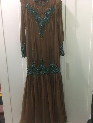 Dress with Beaded