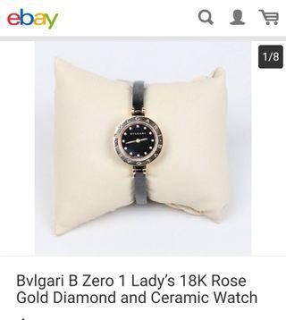 Bvlgari b zero1 ceramic brand watch