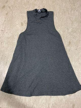 Young Hungry Free Grey Dress