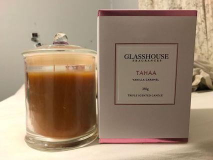 Glasshouse candle tahaa