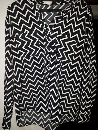 Zebra Stripes Shirt