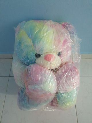 🚚 Rainbow soft toy