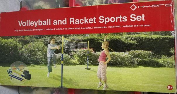 Volleyball and Racket Sport Set