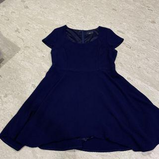 BEGA Navy Blue Dress