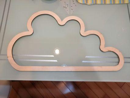 雲 木材 DIY