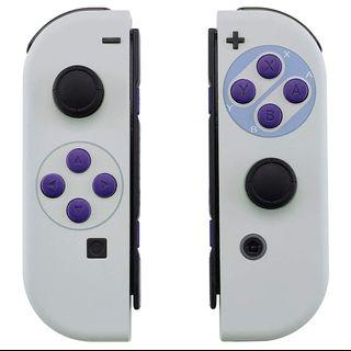 🎮 NS Classic SNES Joycon Replacement Shells + Installation