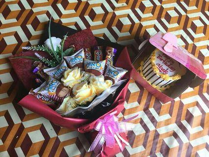Surprise  Delivery /Suprise Bouquet/chocolate
