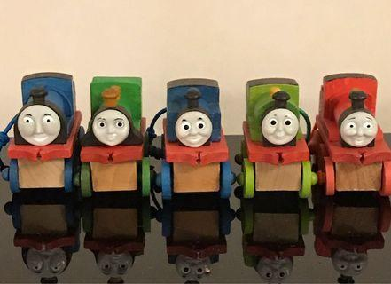 Thomas and his friends wooden trains 湯瑪士木製小火車