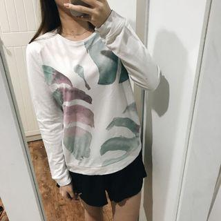 Colorbox Leaf Sweater