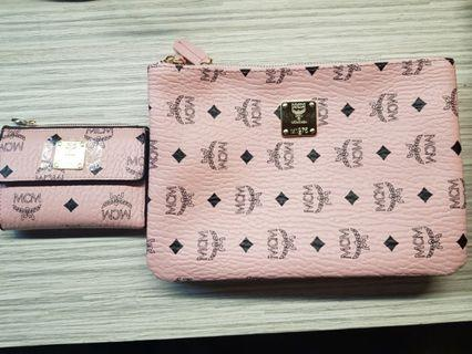 Ladies handbag & wallet set
