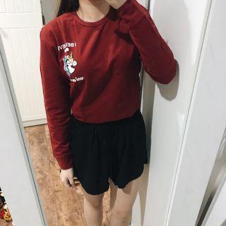 Unicorn Red Sweater