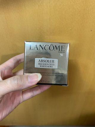 最後一盒!lancome極緻完美純白再生面霜