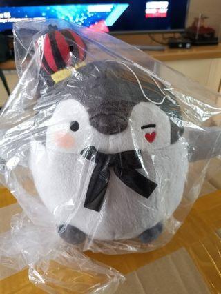 正能量企鵝 koupen chan 紅心皇后公仔 全新現貨 日本正版景品 夾公仔