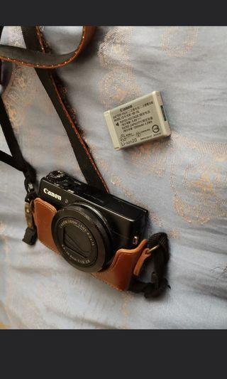 Cannon G7X第一代 powershot 連256gb卡