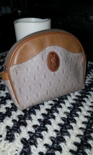 Yves Saint Laurent Vintage Pouch Bag Authentic