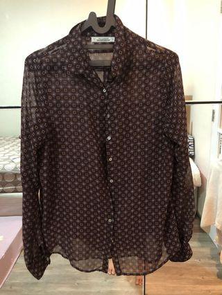 Pull & Bear Chiffon Shirt