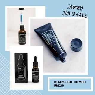Klairs Blue Cream 60ml + Serum 30ml