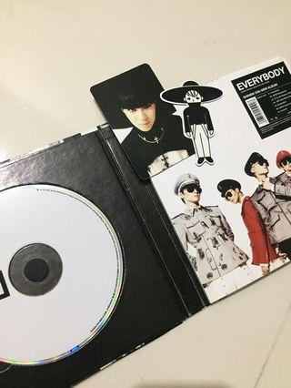 SHINEE EVERYBODY ALBUM WITH TAEMIN PHOTOCARD