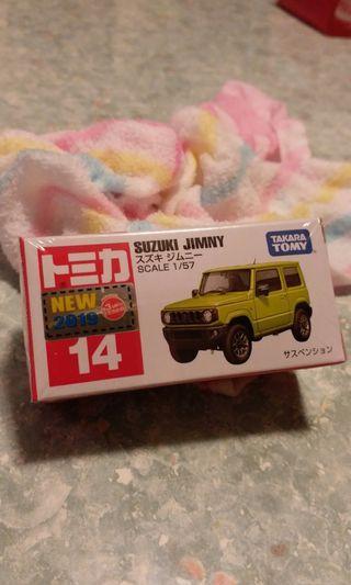 1:57 Tomica Suzuki Jimny 模型車