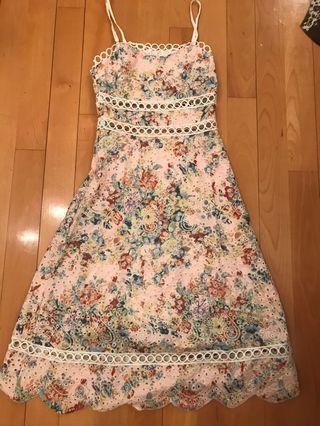 Zimmermann style lovelorn summer dress