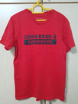 Converse Singapore Red Tee