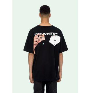 Off White 19FW Hand Card Tee