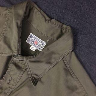 Buzz rickson military hbt work shirt size M