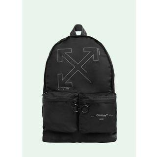 Off White 19FW Unfinished Backpack