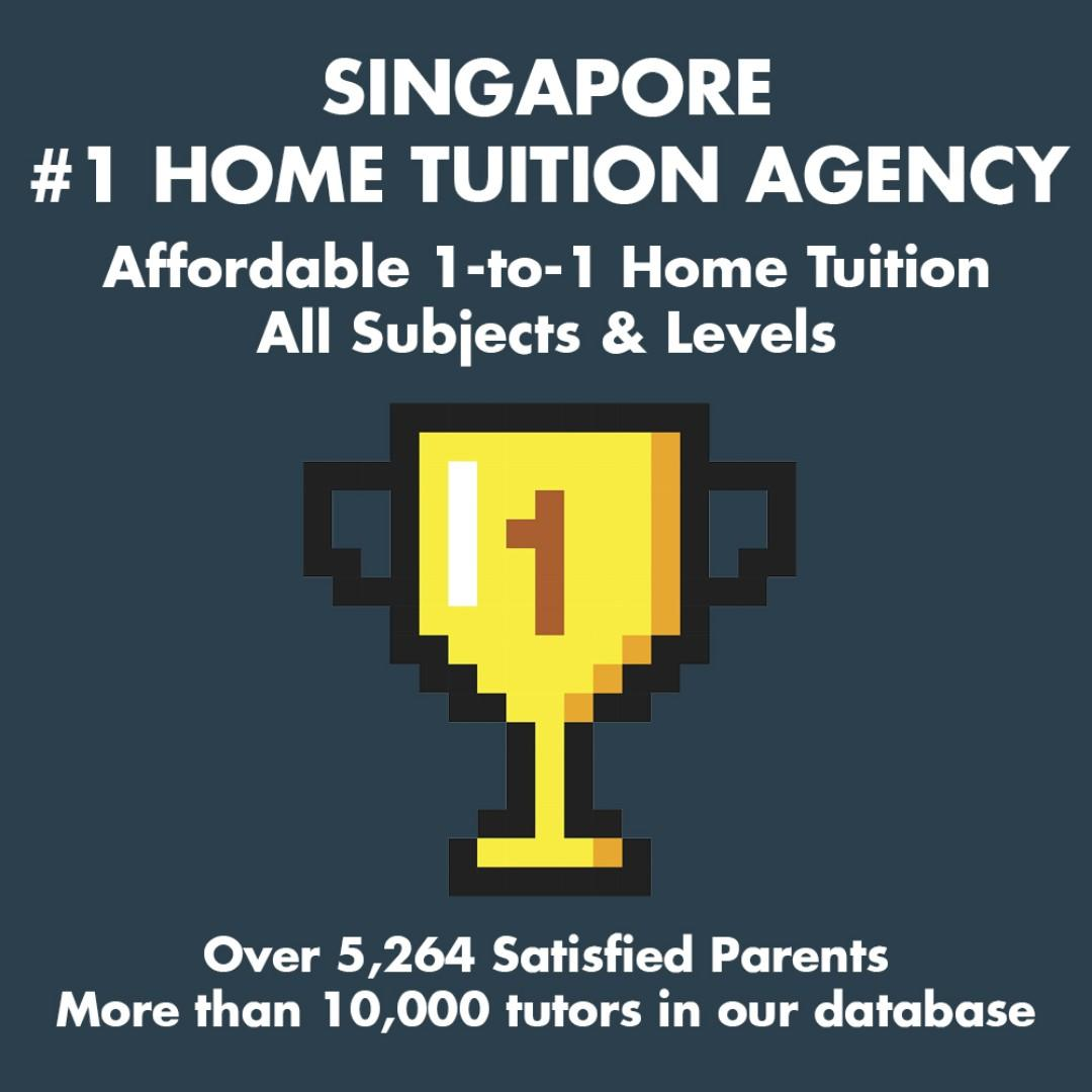 AFFORDABLE 1-to-1 Home Tuition Singapore: English Mathematics Science Chinese Malay Tamil Biology Chemistry Physics Economics GP POA Maths H1 H2