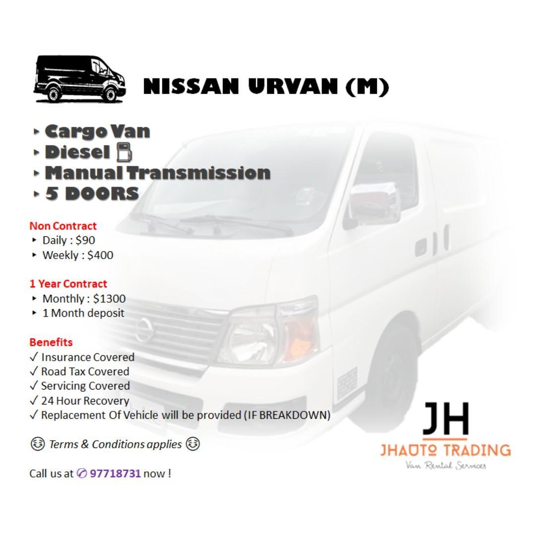 Affordable Van Rental