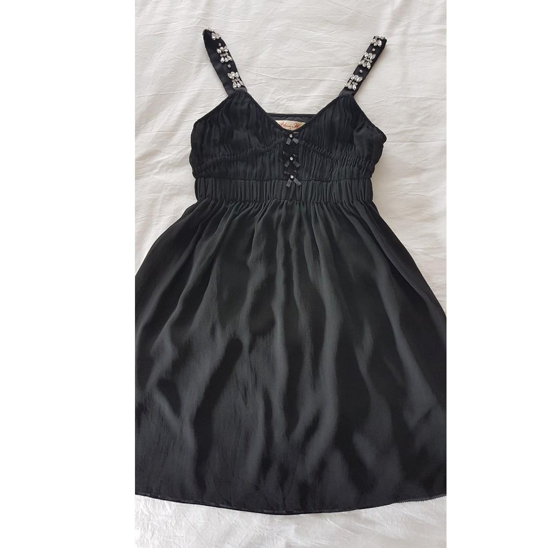 Alannah Hill 'My Vintage Love frock' silk dress size 8