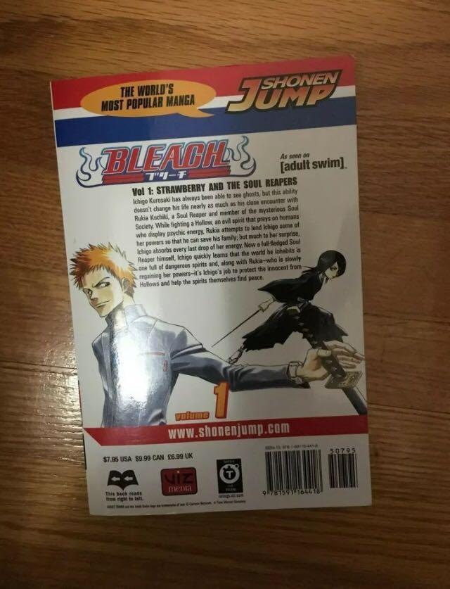 Anime (Manga) | Bleach, Vol. 1 by Tite Kubo [ENG]